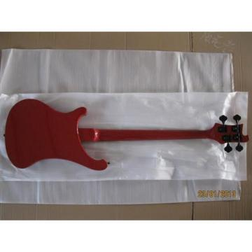 Custom Rickenbacker 4001 Red Burst Bass