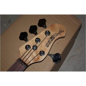 Custom Shop Red Black Burst 4 String Ernie Bass
