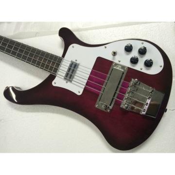 Custom Shop Purpleglo 4003 Fretless Bass