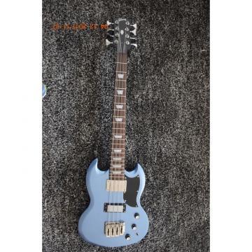 Custom Shop Pelham Blue 8 String Bass