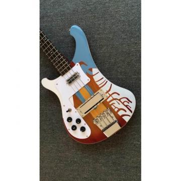 Custom Shop Paul McCartney's 1964 4001 Fireglo Left Hand Bass