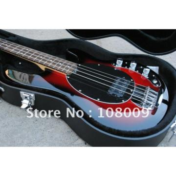 Custom Shop Red Music Man Black Electric Bass