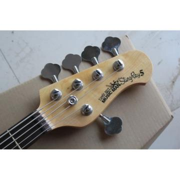 Custom Shop MusicMan Gray 5 Strings Music Man S.U.B. Ray5 Electric Bass