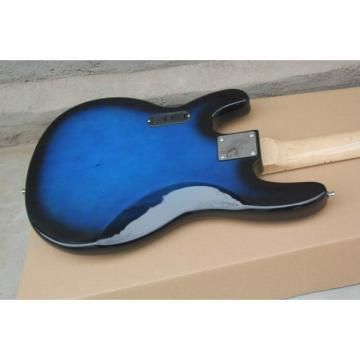 Custom Shop Ernie Ball Blue Music Man Sting Ray 4 String Bass
