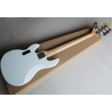 Custom Shop MusicMan Arctic White 5 Strings Electric Bass
