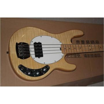 Custom Shop Music Man Tiger Maple Top 4 String StingRay Bass