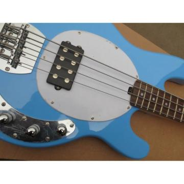 Custom Shop Music Man Sky Blue Electric Bass