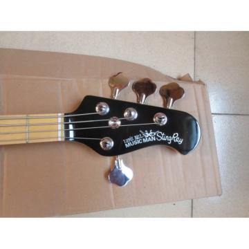 Custom Shop Music Man Black Electric Bass