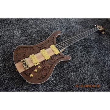 Custom Shop Lemmy Kilmister  Rickenbacker 4003 Matte Carved Natural Bass Walnut