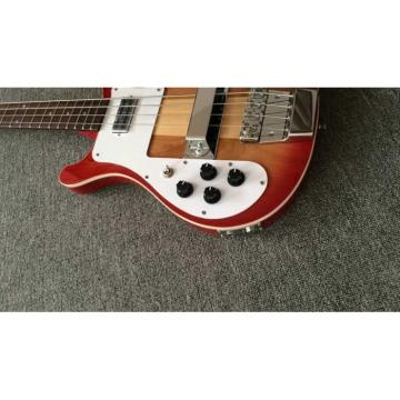 Custom Shop Left Handed Rickenbacker Fireglo 4001 Bass