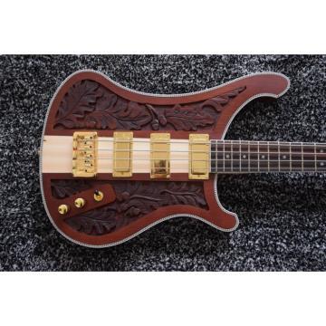 Custom Shop Lemmy Kilmister  4003 Matte Carved Ash Natural Bass
