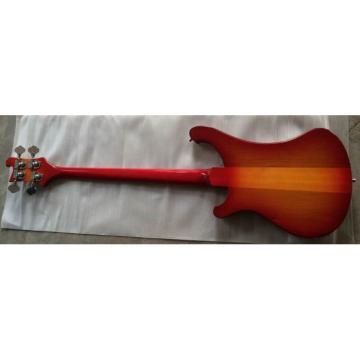 Custom Shop Jetglo Neck Through Body 4003 Bass