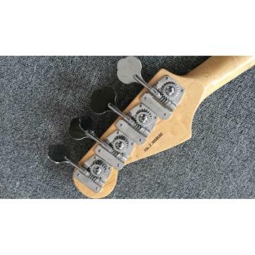 Custom Shop Graffiti Yellow Color Fender Precision Jaguar Electric Bass