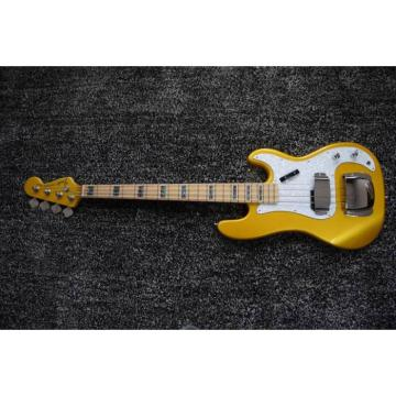 Custom Shop Gold Precision 4 String Jazz Bass