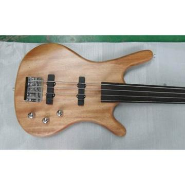 Custom Shop Electric Bass Bolt on Neck Natural Finish