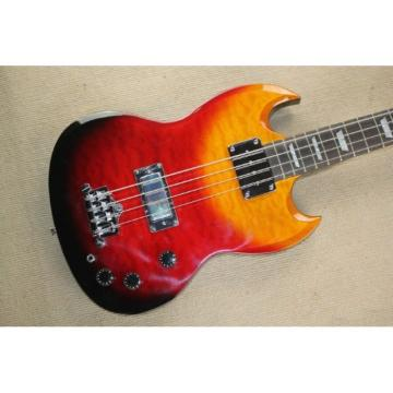 Custom Shop EB-3 SG Standard Rainbow 4 String Bass