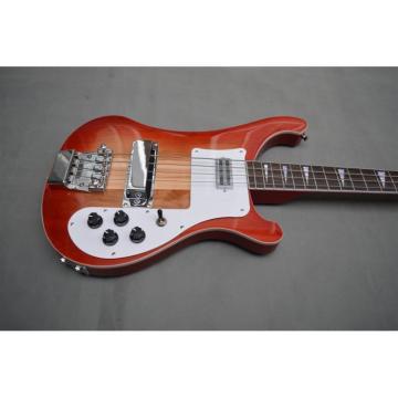 Custom Shop Flame Red 4003 Bass