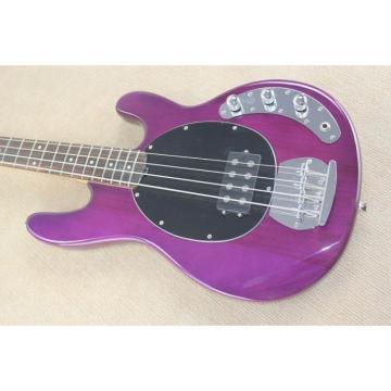 Custom Shop Ernie Ball Musicman Sting Ray 4 Strings Purple Bass