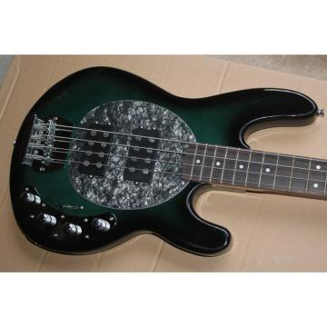 Custom Shop Dark Green Music Man 4 String Bass