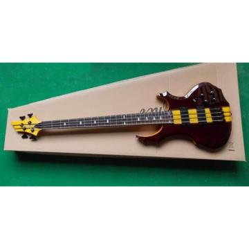 Custom Shop Electric Bass Neck Through Rosewood Finish