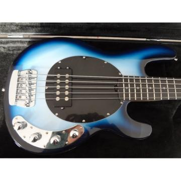 Custom Shop Blue Burst 5 String Bass Musicman StingRay