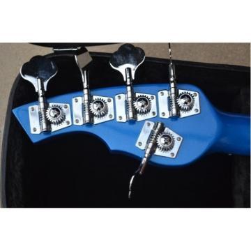 Custom Shop Blue 5 String Bongo Bass Musicman StingRay
