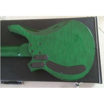Custom Shop Bongo Music Man Green Quilted Maple Top 6 Strings Bass