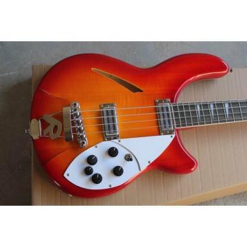 Custom Shop 4005 Rickenbacker Fireglo 22 Frets Semi Hollow Bass