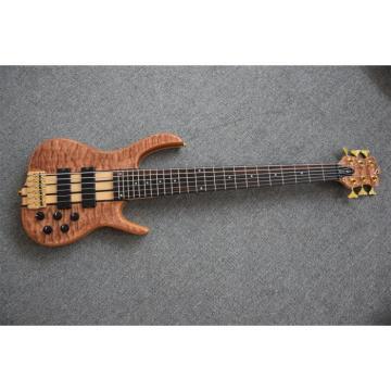 Custom Shop 6 String Natural Maple Top Ken Smith Bass