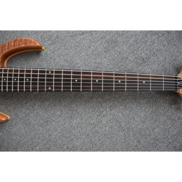 Custom Shop 6 String 24 Frets Electric Bass