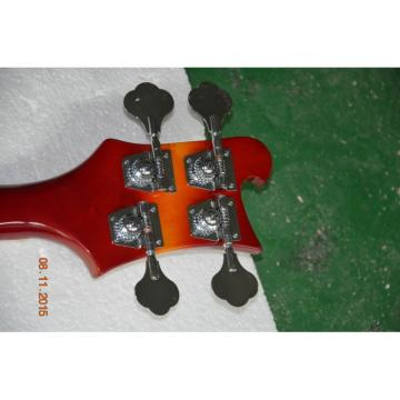 Custom Shop 4005 Rickenbacker Fireglo 22 Frets Semi Hollow Left Handed Bass