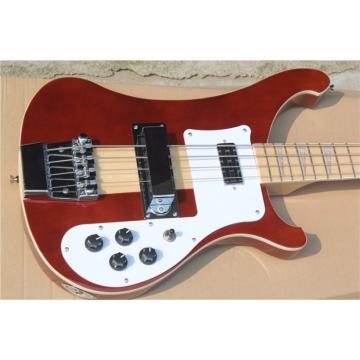 Custom Shop 4003 Red Brown Neck Thru Body Construction Bass