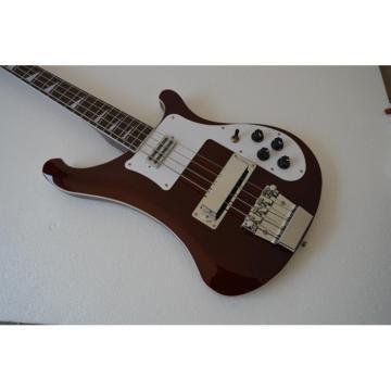 Custom Shop 4003 Neck Thru Body Construction BurgundyGlo 20 Frets Bass