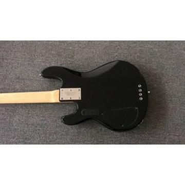 Custom Shop 4 String Blue StingRay Bass Blue Pearloid Pickguard