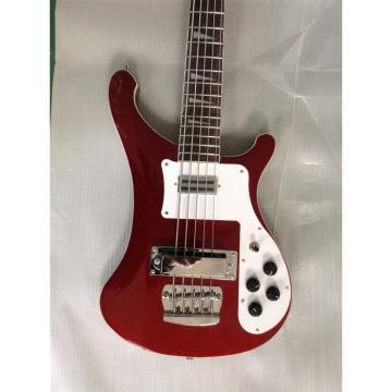 Custom Shop 4003 BurgundyGlo Color 5 String Bass