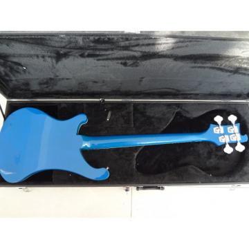 Custom Rickenbacker 4003 Blue Checkerboard Binding Bass