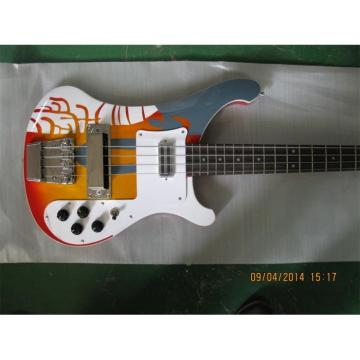 Custom Rickenbacker Paul McCartney's 1964 4001 Bass Psychedelic Paint