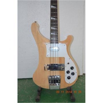 Custom Natural Maple Body 4003 Neck Thru Body Construction Bass
