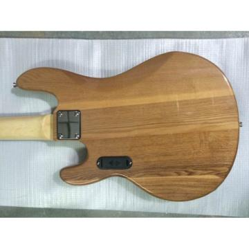 Custom Natural Gloss 5 String Music Man S.U.B. Ray5 Electric Bass Passive Pickups