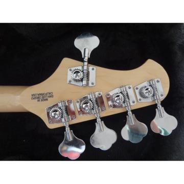 Custom Music Man StingRay 5 Music Man S.U.B. Ray5 Bass Gray Quilted Burst