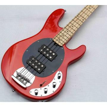 Custom Music Man Red 5 String Ernie Bass
