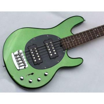 Custom Music Man Metallic Green 5 String Ernie Bass