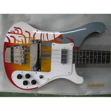 Custom Paul McCartney's 1964 4001 Bass Psychedelic Paint
