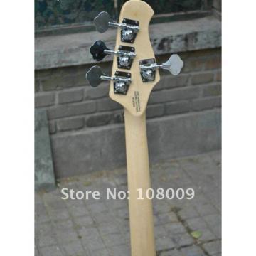 Custom Music Man Left Handed Fretless Natural Bass