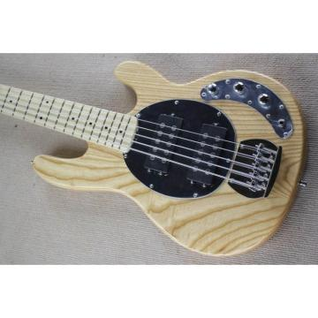 Custom Natural Music Man Sting Ray 5 Bass Maple Body