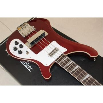 Custom Made Wine Red Jetglo 4003 Electric Bass