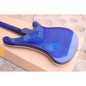 Custom Made Left Handed Midnight Blue 4003 Bass