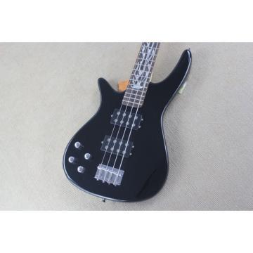 Custom Modulus Black 5 String Bass Left Handed