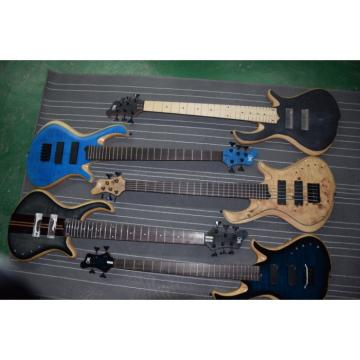 Custom Mayones Built 5 String Birds Eye Bass