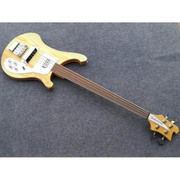 Custom Made 4003 NaturalGlo Fretless Electric Bass